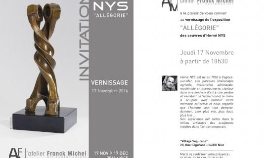 Expo Hervé NYS 17/11 > 17/12  –  Communiqué de presse EYECOM