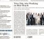 Chic' Working #2 – Une large promotion auprès des médias