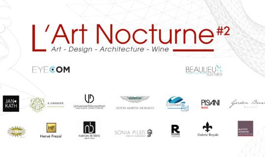 L'Art Nocturne #2 à Beaulieu-sur-Mer