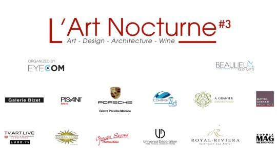 L'Art Nocturne #3 à Beaulieu-sur-Mer
