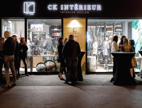Soirée d'inauguration CK INTÉRIEUR