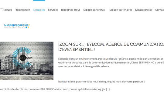 EYECOM, Interview UPE06