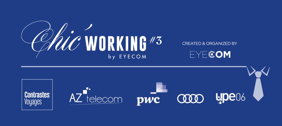 Chic' Working #3, un Networking Art de Vivre